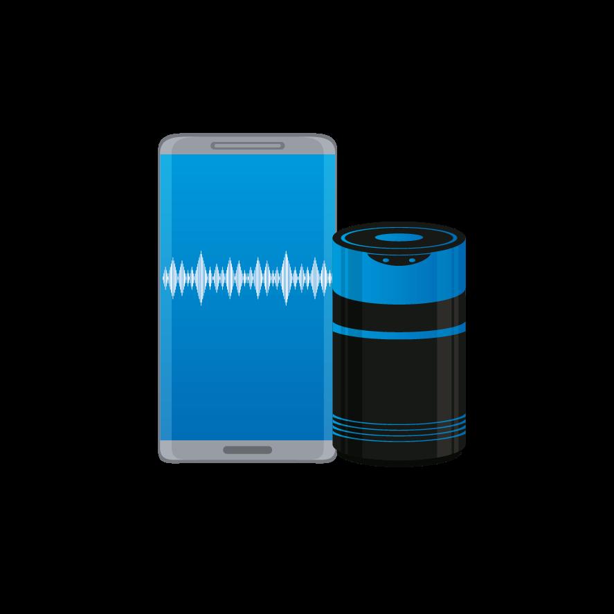 Enceinte Bluetooth connecté
